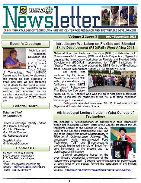 July - September 2015 Edition